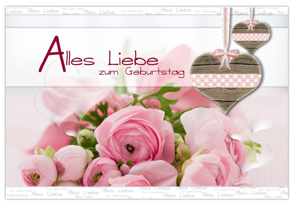 Открытки с днем рождения девушке на немецком 84