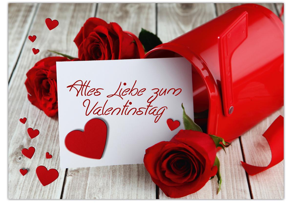 Karte zum valentinstag alles liebe zum valentinstag for Valentinstag bilder kostenlos